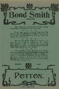 Bond-Smith flyer [X704-92-9]